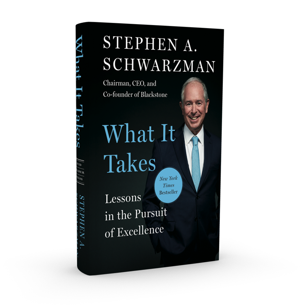 Stephen Schwarzman What It Takes Book Cover